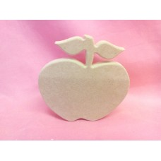 18mm Thick MDF  Standing  Apple 150mm